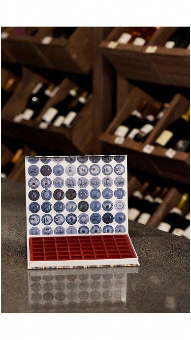 Dėžutė kamštelių kolekcionavimui, 48vnt 2